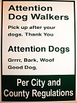 Sign - Dog Park Large