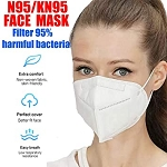 Mask - 95% filtration - KN95 4 pack